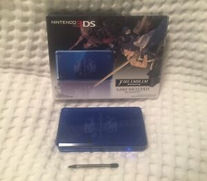 Nintendo 3DS Limited Edition Fire Emblem Awakening Edition console + box