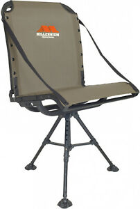 Hunting Ground Blind Chair Swivel Comfort Foldable Adjustable Lumbar Outdoor New