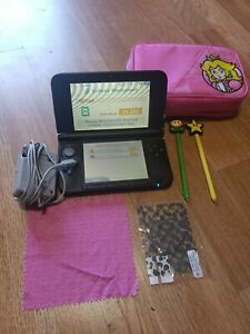 Nintendo 3DS XL Super Mario Bros 2 Gold Limited Edition Red Lot Handheld Console