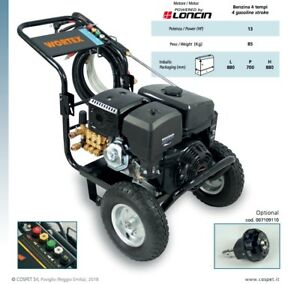 Pressure Washer Petrol Wortex Lw 18250E Engine Loncin 4T 13 hp 248bar 85kg