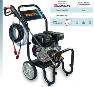 Pressure Washer Petrol Wortex Lw 9150 Engine Loncin 4T 65 hp 150bar Water Cold