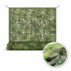 Military Mesh Camo Woodland Camouflage Netting Camping Hunting Army Car Cover