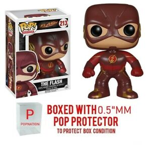 Funko Pop The Flash TV: The Flash #213 Vinyl w 0.5mm Case