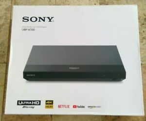 🌟🎈 Sony UBP-X700 4k Ultra HD Blu-ray Disc Player with Dolby Vision in Black 🌟