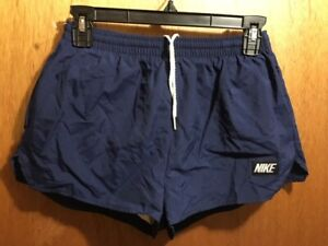 M'S VINTAGE NWOT 1980'S NIKE PRE-FONTAINE RUNNING CC SHORTS SIZE MEDIUM W28-34W