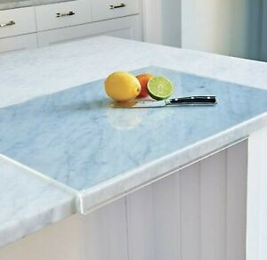 Acrylic Cutting Board with Lip Clear Acrylic 24quot; x 18quot; x 1.5quot;