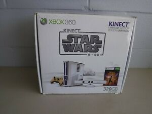 Microsoft Xbox 360 320GB  Star Wars Limited Edition Console in Box  NICE!