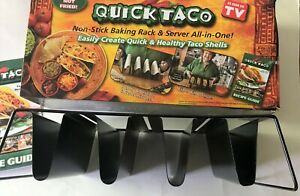 NEW Quick Taco Baking Rack & Server As Seen on TV