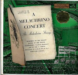 1956 Melachrino Concert Strings A RCA Victor Extended Play Two Records