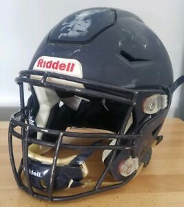 Riddell SPEED FLEX speedflex football Helmet ADULT LARGE L matte navy blue
