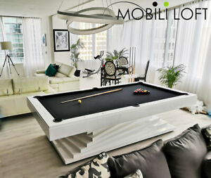 ELEGANT POOL TABLE 8´   MODERN AND EXCLUSIVE DESIGN