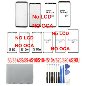 OEM Front Outer Glass Lens Screen For Samsung Galaxy S8S8+S9S9 Plus + Tools