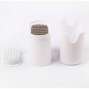 Fries One Step Natural French Fry Cutter Vegetable Fruit Potato Slicer 2pk