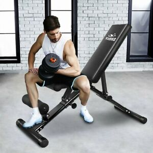 FLYBIRD Adjustable Weight Bench Press Flat Incline Lifting Fitness Gym Exercise