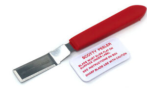 Scotty Peeler Label amp; Sticker amp; Price Tag Remover Cutter Single Metal SP2