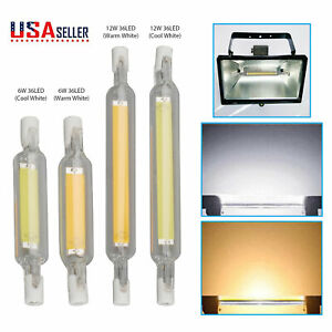 LED Flood Light Bulb R7S 78mm 118mm 12W/16W Dimmable Replacement Halogen Lamps