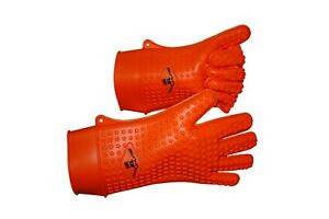 Silicone Heat ColdResistant Grilling Baking  Multi Use Gloves XL SIZE