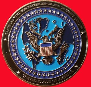 NATIONAL COUNTER INTELLIGENCE AND SECURITY CENTER CHALLENGE COIN  2