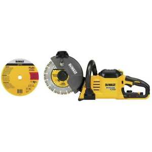 DeWALT DCS690B 60 Volt 9 Inch Cordless Brushless Cut Off Saw, Bare Tool