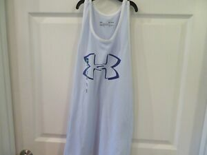 NWT Misses Purple Under Armour Tank Top Size M $14.95