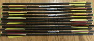 20 inch Carbon Crossbow Bolts Hammerfist Hobo Archery Products 12 Arrows