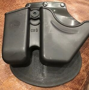 Fobus CU9GS Black Paddle Style Handcuff & Sig 9/40 Magazine Combo Pouch/Holster