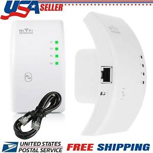 300Mbps Wifi Repeater Wireless Network Router Extender Signal Booster Range