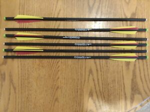 20 inch Carbon Crossbow Bolts Hammerfist Hobo Archery Products 6 Arrows