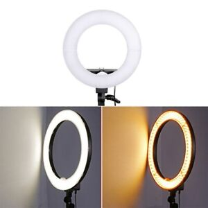 18 Inch   LED Selfie Ring Light Beauty Lamp for Makeup Self-Portrait Video