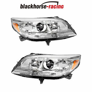 LEFTRIGHT For 2013 2015 Chevy Malibu Replacement Halogen Projector Headlights $240.99