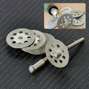 10 Diamond Cutting Wheels For  Rotary Tool die grinder metal Cut Off Disc
