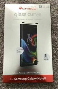 ZAGG invisibleShield Glass Curve Screen Protector Samsung Galaxy Note9 note 9