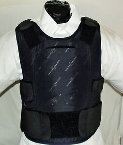 3X/Long IIIA Lo-Vis Concealable Body Armor Carrier BulletProof Vest with Inserts