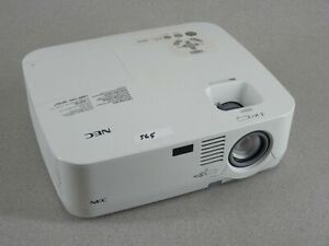 NEC NP510 LCD Video Home Theater Projector Super Bright Working Lamp No Remote