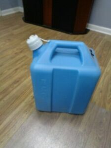 Ecolab 5 gallon Jug Camping Supplies Cleaning Supplies Blue
