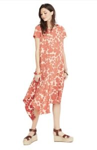Hatch Maternity Collection THE ALEXANDRA DRESS Red Floral Size 1 (SM/4-6) NEW
