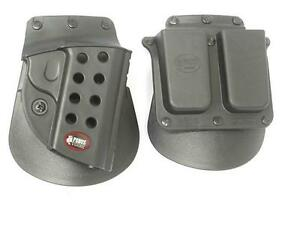 Fobus Springfield 1911 .45 cal. Holster and Magazine Pouch 4500