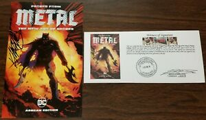 Forged From Metal The New Age of DC Heroes Ashcan Edition 2017 SIGNED Rocafort $22.00