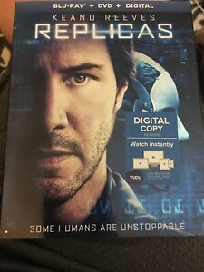 NEW - Replicas Blu-ray + DVD + Digital with slipcover