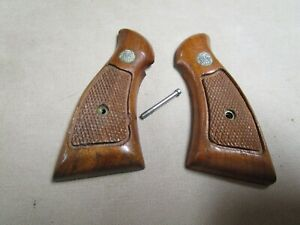 Smith & Wesson K-Frame Square Butt Grips  Used Originals