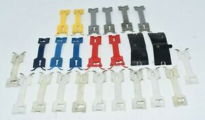 92-96 Buick Roadmaster Wagon Side Door Molding Clip Clips Red Yellow Blue Gray