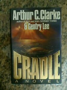 Cradle by Arthur C. Clarke and Gentry Lee (1988, Hardcover) 1st Edition