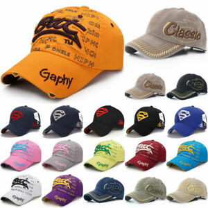 Unisex Men Lady Baseball Caps Embroidered Snapback Hip-Hop Hat Golf Sports Hats