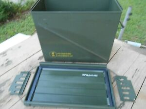 CNU-405 Military AMMO Box BIGGEST SIZE MADE Prepper  Safe for Valuables etc