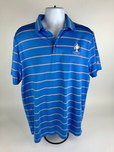 Under Armour Des Moines Country Club 2017 Solheim Cup Golf Polo SS Shirt Mens XL $22.59