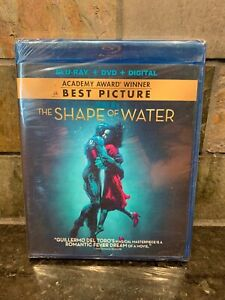 The Shape of Water Blu-Ray + DVD + Digital New Sealed Ships Fast!