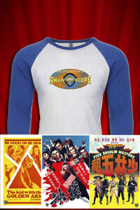 Kung Fu Theater Vintage TV Jersey JERSEY T-SHIRT FREE SHIP USA Grindhouse Cinema
