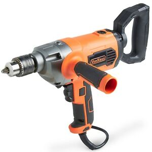 """VonHaus 10 Amp 1 2"""" Spade Handle Drill Mud Paint Mixer with Variable Speed"""