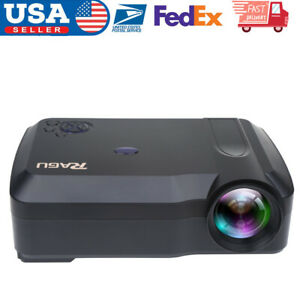 LED Smart Home Theater Projector Android 6.0 4K BT 1080P FHD 3D Video Movie