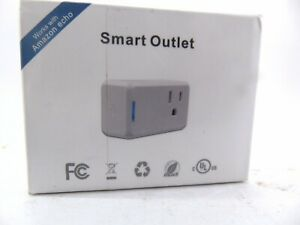 Smart Plug Mini, Wi-Fi Switch Outlet Socket, No Hub Required